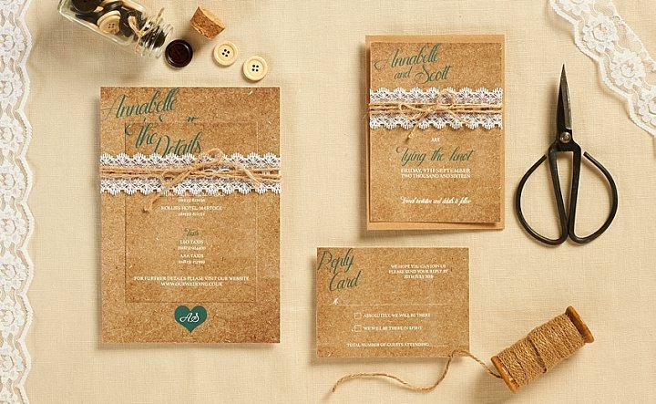 Boho Loves - Wedding Stationery from Sugar & Spice Designs