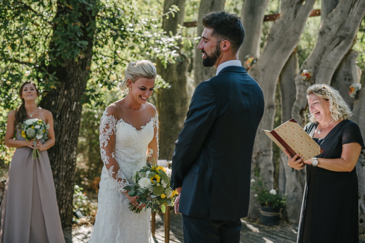Kathryn and Steven's Gorgeous Outdoor Italian Summer Wedding by Davide Zanoni