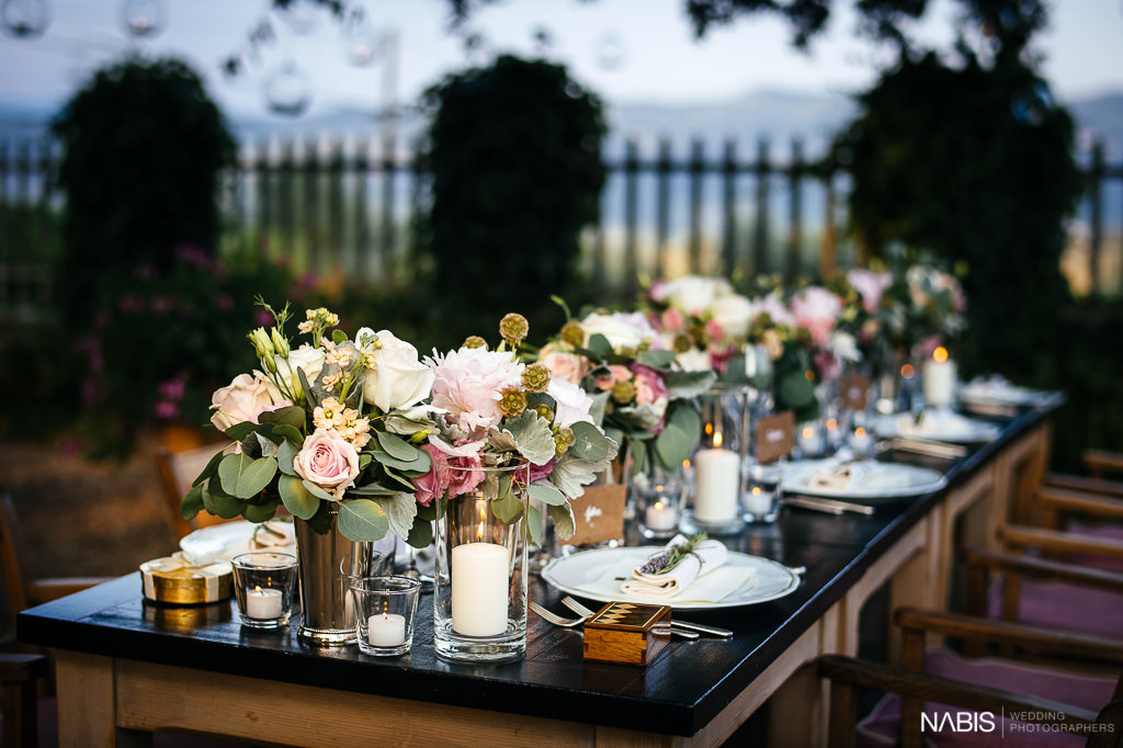 Melissa and Mark's Intimate Vintage Inspired Outdoor Italain Wedding by Nabis Photographers