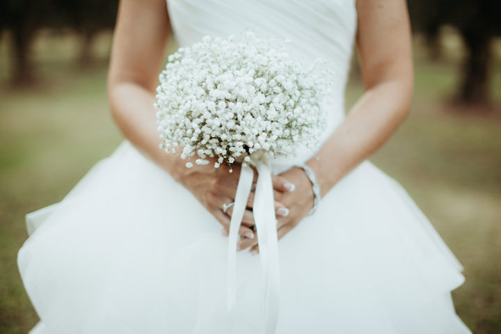 26 Beautiful Shabby Chic Italian Wedding with a Pronovias ...