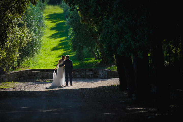 Oriana and Gillaume's Yellow and Blue Tuscany Wedding by Patrizia Galliano