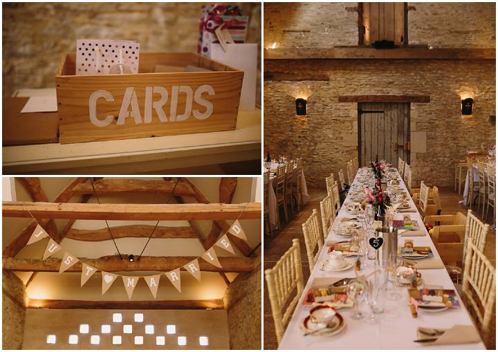 Lucy and Richard's Pretty Spring Barn Wedding in Gloucestershire by Catherine Carter Weddings