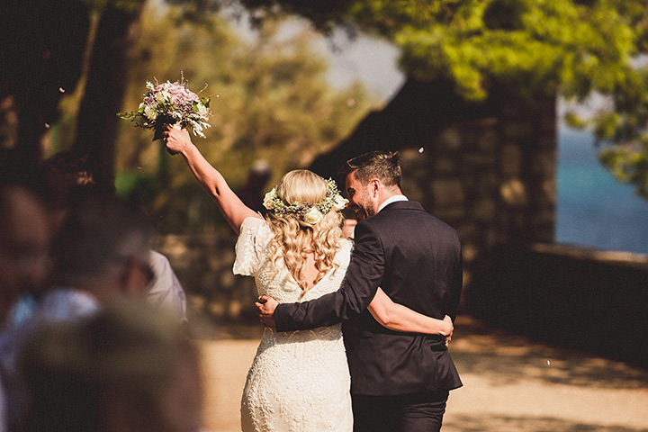 Alice and Matt's Lavender filled 'Rustic Bohemian' Wedding in Croatia by Nina Anic
