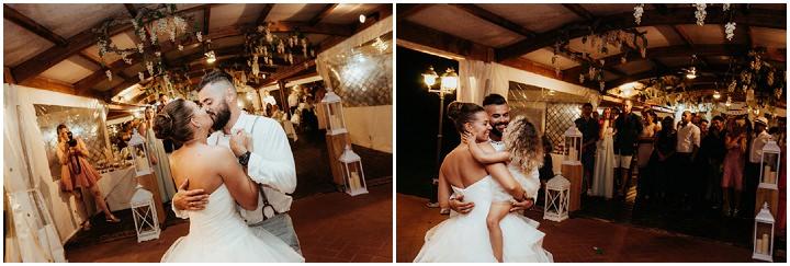 Ronny and Barbara's Beautiful Shabby Chic Italian Wedding by Antonio Patta