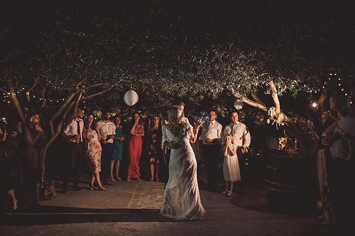 Alice and Matt's Lavender filled 'Rustic Bohemian' Wedding in Croatia by Nina Anic