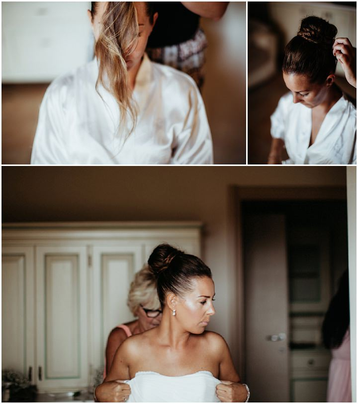 Ronny and Barbara's Beautiful Shabby Chic Italian Wedding by Antonio Patta