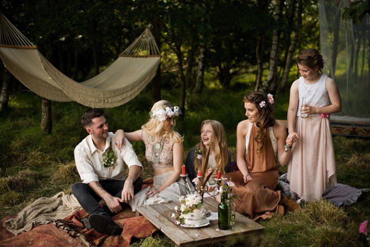 'Bohemian Vibes' Rustic Festival Wedding Inspiration from Karolina Kotkiewicz