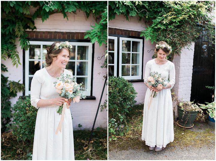 Markus and Mae's Natural and Homespun Wedding with a Handmade Wedding Dress. By Gemma Giorgio