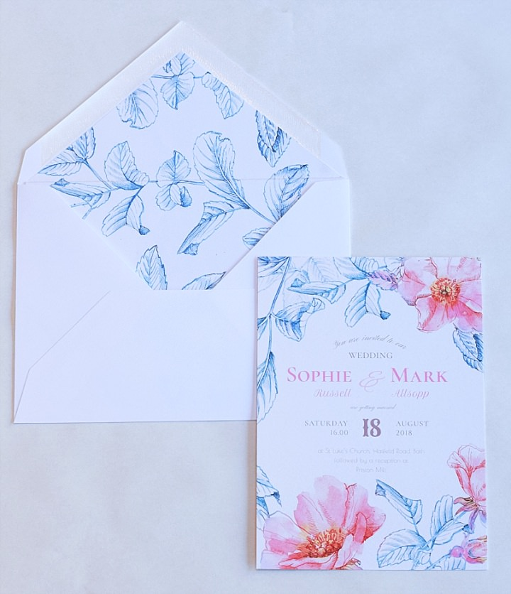 Boho Loves: Eclectic and Contemporary Wedding Stationery from Pemberly Fox