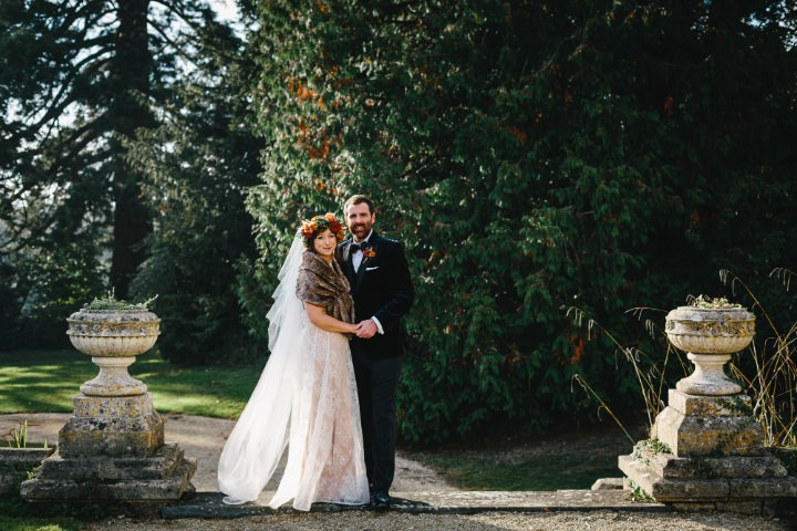 Rebecca and Rob's Autumnal, Woodland Themed Somerset Wedding by HOW Photography