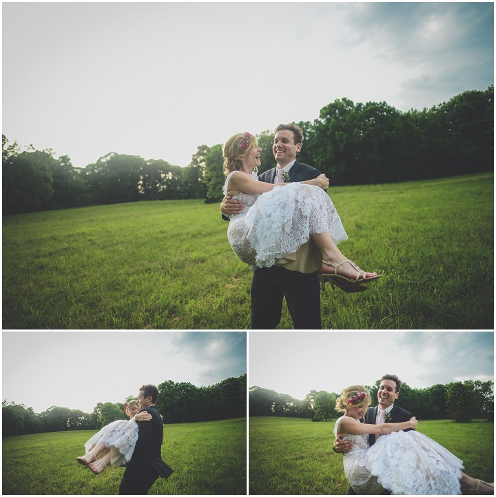 Morwenna and Matthew's Modern Vintage Backyard Pennsylvanian Wedding by Requiem Images