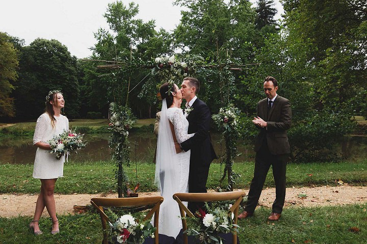 Courtney and Daniel's Organic Chic French Chateau Wedding by Annie Gozard