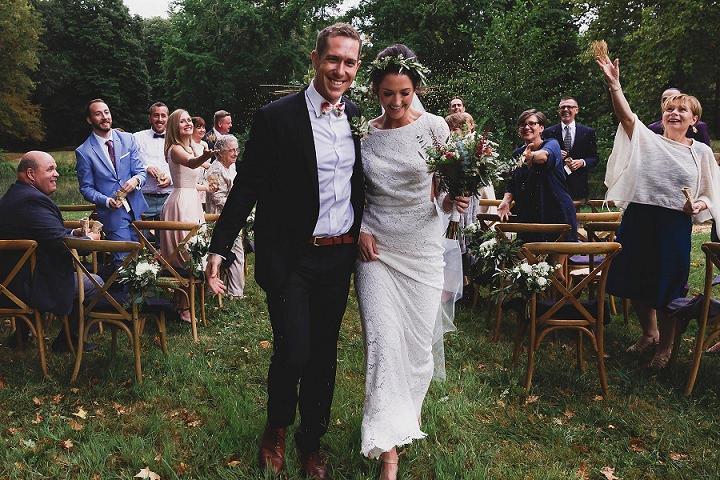 Courtney and Daniel's Organic Chic French Chateau Wedding by Annie Gozard
