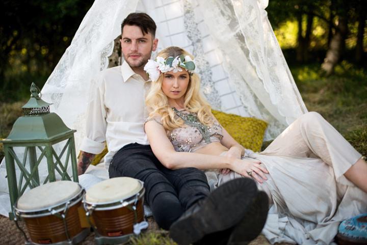 Rustic Boho Music Festival Inspiration from Karolina Kotkiewicz