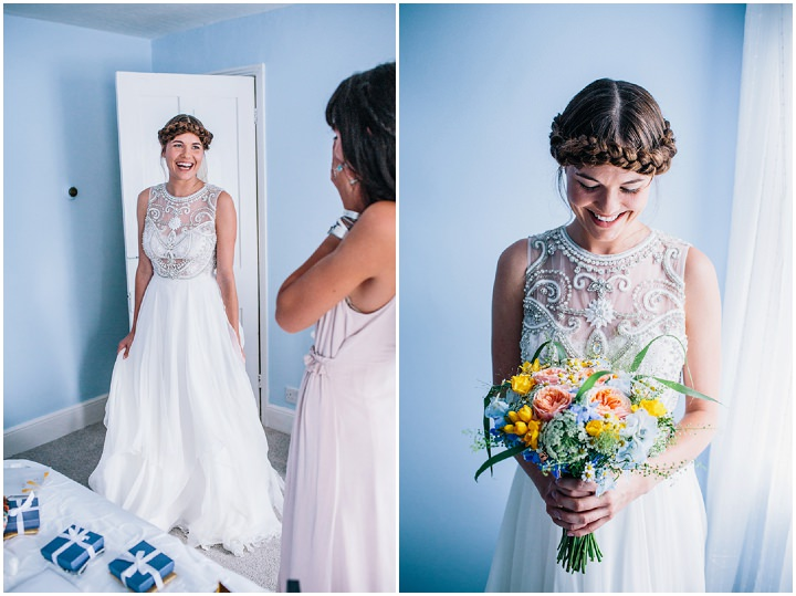 Melissa and Alex's Bright and Beautiful Multicoloured Bohemain Wedding by Heart Full of Tea