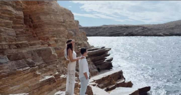 Friday Film Club: Isabelle and Simon's Bohemian Ibiza Beach Wedding by Loud Cinematography