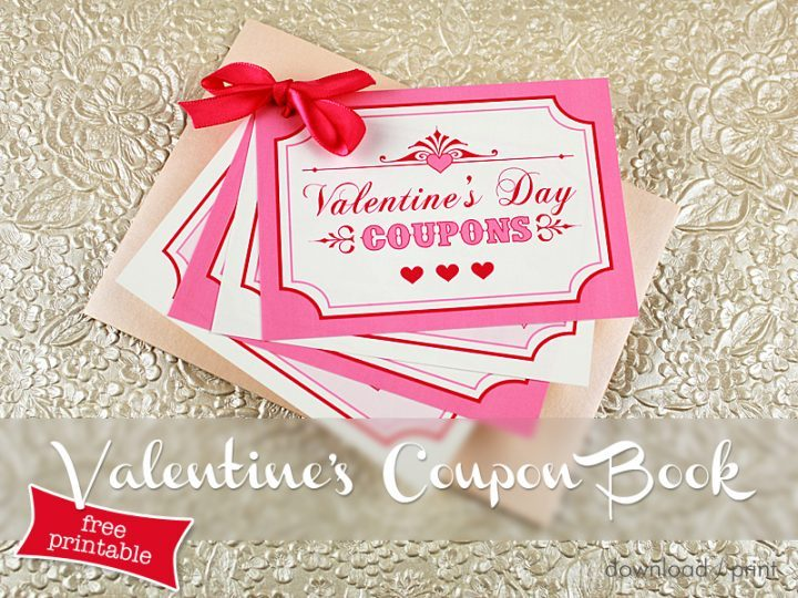 FREE Valentines Download - Valentines Coupon Book - Boho Weddings For the Boho Luxe Bride