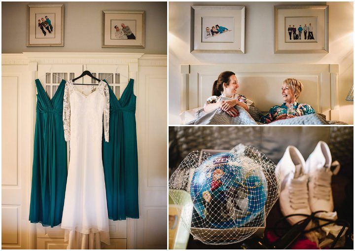 Woodland Themed Yorkshire Wedding at Broughton Hall in Skipton with Lots of Handmade Details and beauiful decoration by Andy Gaines