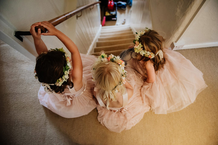 Relaxed Homemade Festival Wedding in Devon by Fiona Walsh Photography with colourful details and homegrown flowers