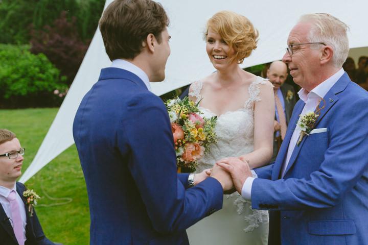 Flower Filled English Country Garden Destination Wedding in Dorset by Paul Underhill