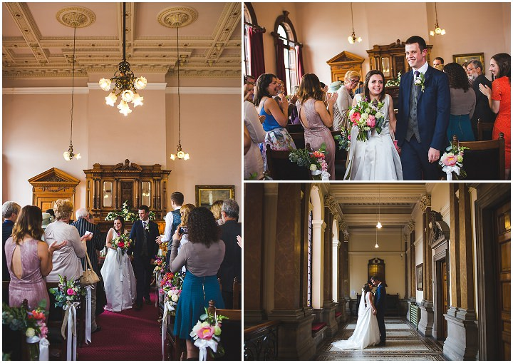 Handmade Tipi Wedding in Leeds by S6 Photography, with a homemade wedding dress, DIY flowers and a silent disco
