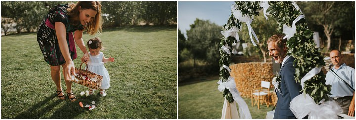 Beautifully Natural and Sun Filled Wedding in Croatia, with a gorgeous outdoor ceremony by Vladamir Mudrovcic