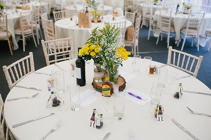 Emma and Sam's 'Dinosaurs and Daisy's' North Wales Wedding by Dan Hough Photography