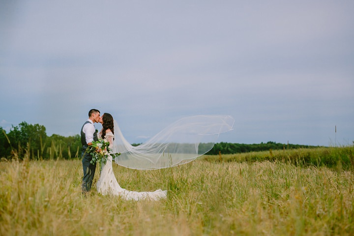 Jaclyn and Ben's Rustic Chic Jewish Farm Wedding by Emily Tebbetts Photography