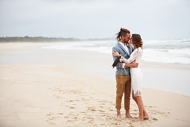 Coastal Luxe Boho Wedding Inspiration at Brunswick Heads, Australia