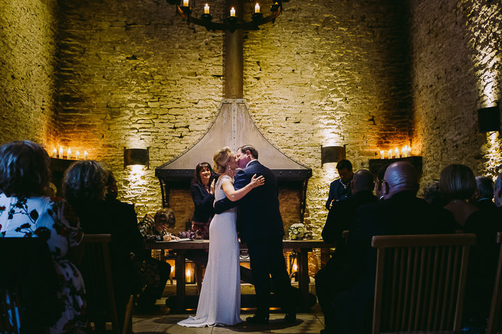 Elegant Cotswolds Barn Wedding with a Jenny Packham Dress by Kevin Belson
