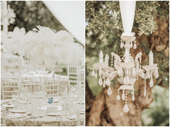 Ana and Pedro's Super Glam Great Gatsby Themed Spanish Wedding by Oscar Guillen