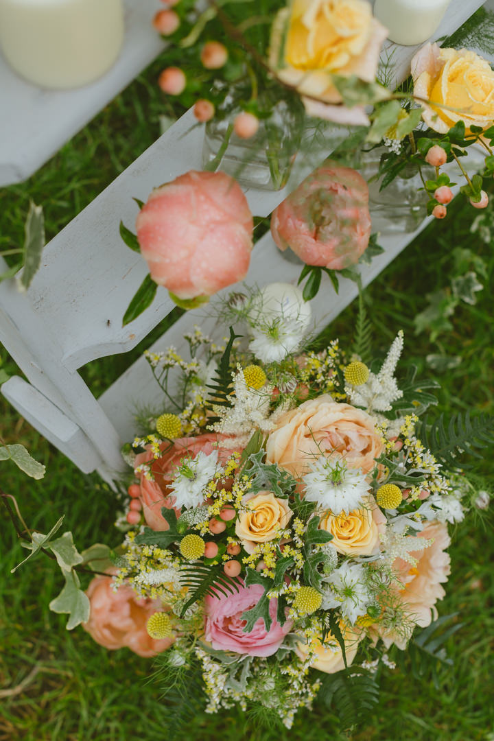 Flower Filled English Country Garden Destination Wedding in Dorset by Paul Underhill