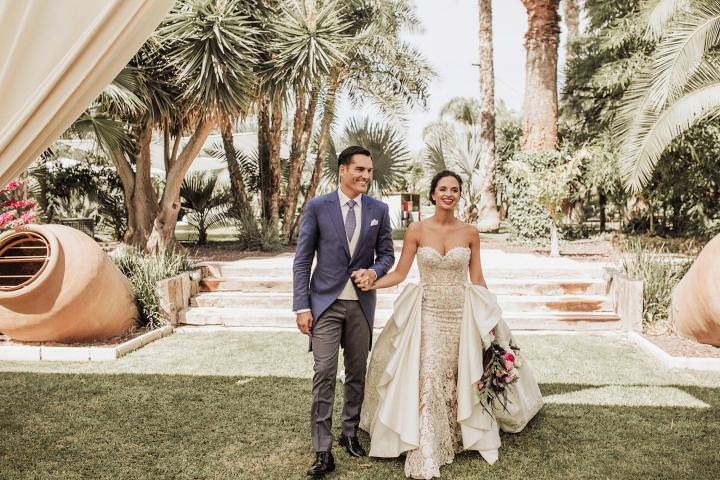 Wedding In Spanish.Ana And Pedro S Super Glam Great Gatsby Themed Spanish Wedding By