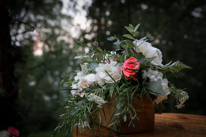 Rustic Glam Treehouse Wedding In Ohio With Beautiful Florals By Imagine It Photography