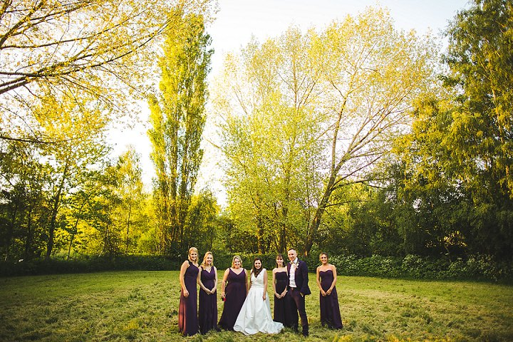 vHandmade Tipi Wedding in Leeds by S6 Photography, with a homemade wedding dress, DIY flowers and a silent disco