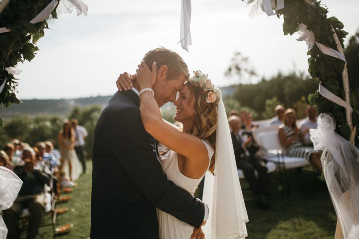 Martina and Tim's Beautifully Natural and Sun Filled Wedding in Croatia by Vladimir Mudrovcic