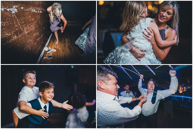 Boho Chic Gloucestershire Wedding by Nicola Thompson Photography with giant balloons and flower crowns