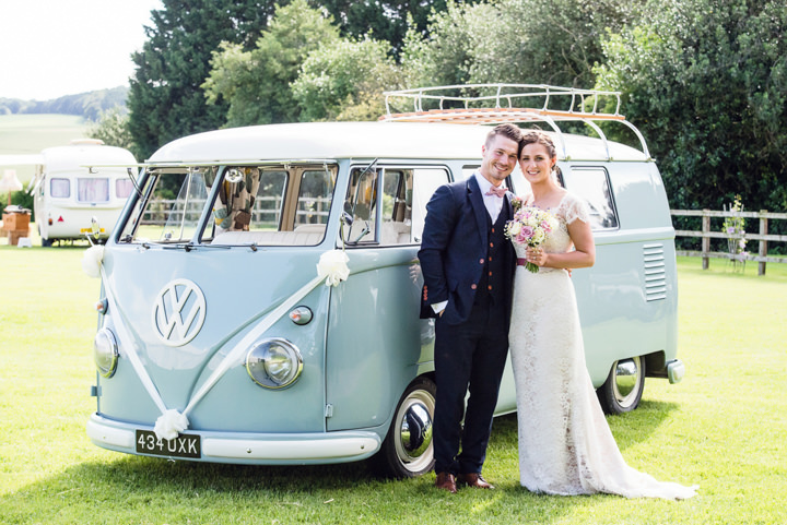 Emma and Jonathan's Pretty Country Pastel Homemade Hertfordshire Wedding by Sarah Elliot Photography