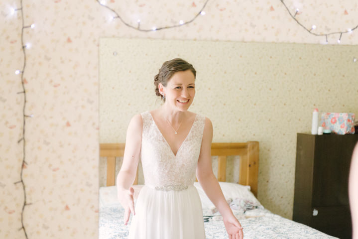 Grace and Sam's Music Themed Pastel Blue Sheffield Wedding by Kate Waters Photography
