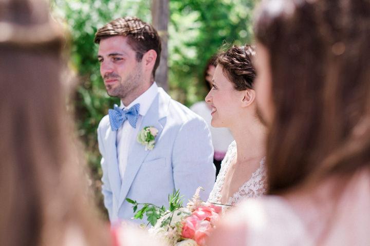 Mariella And Philip S Beautiful Outdoor Summer Wedding In