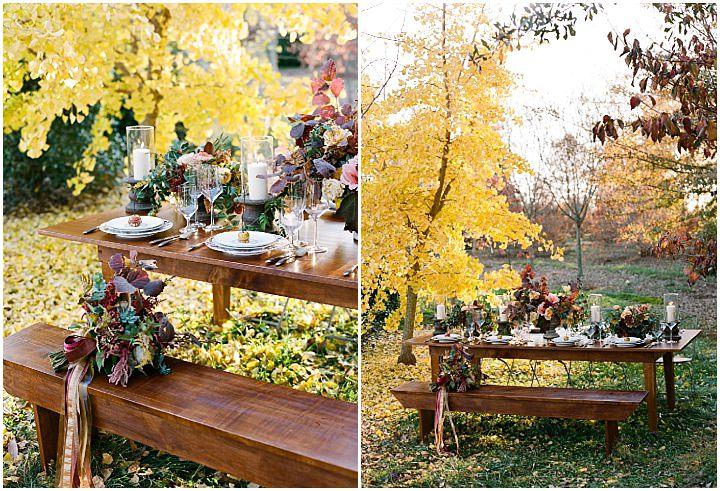 Romantic Fall Farm Elopement Inspiration