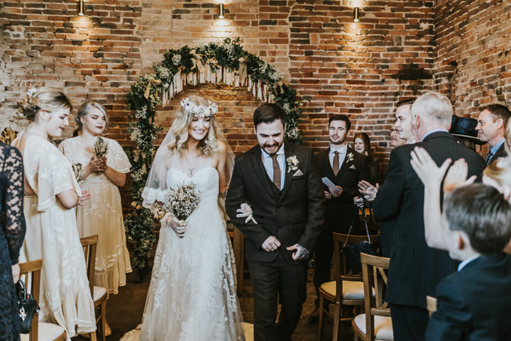 52dcc8b93fd ... Earthy and Rustic Autumn Wedding by French Connection Photography, with dried  flowers, ...