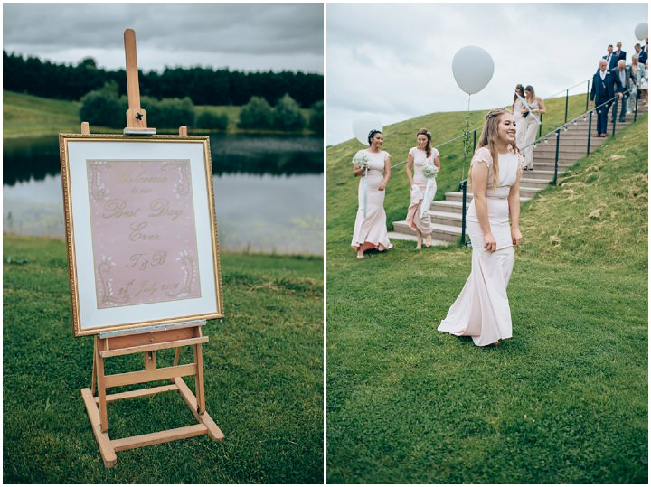 White, Gold and Blush Handmade Cheshire Wedding by Samantha Kay Photography