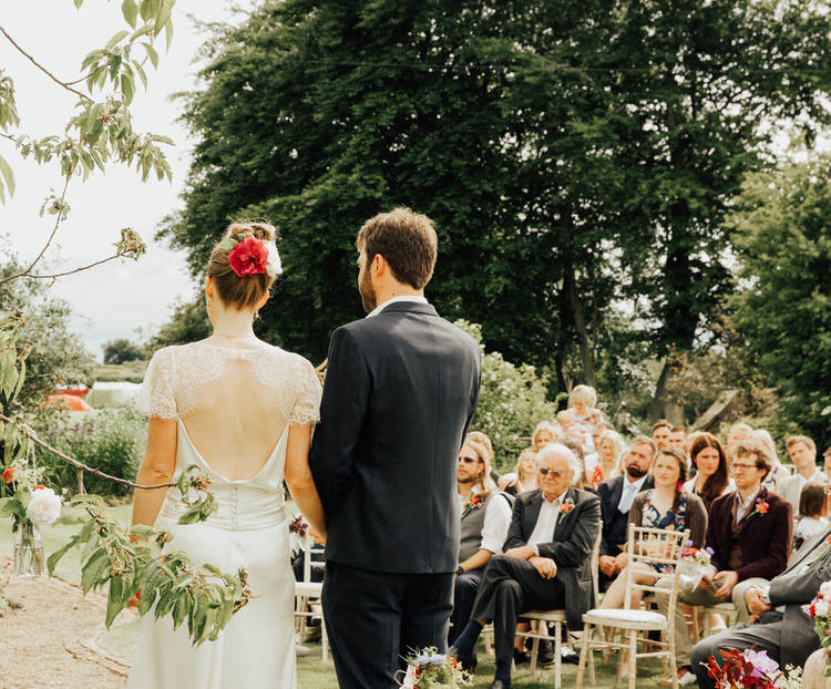 Sarah and Robin's Handmade Back Garden Wedding in North Yorkshire by Patrick Phillips