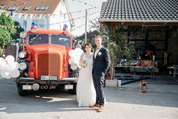 Rustic Homemade Food Truck Wedding in Germany from Kopfkinografie by Canan Maass
