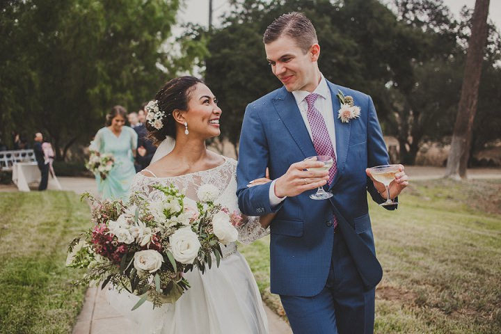 Beautiful Flower Filled Outdoor California Wedding by Inner Song Photography