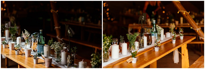 Adele and Philip's 'Secret Garden' Festival Tipi Wedding in Northamptonshire by Aaron Collett Photography