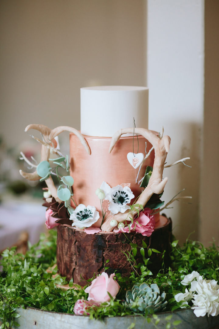 Boho Woodland Inspired Shoot with Horsebox Bar by Real Simple Photography