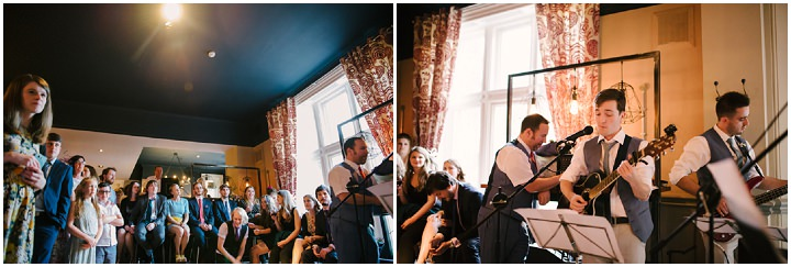 Music Themed Pastel Blue Sheffield Wedding by Kate Waters Photography