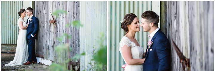 Pretty Country Pastel Homemade Hertfordshire Wedding by Sarah Elliot Photography, with a cake table, bunting and outdoor games.